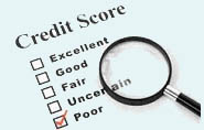 Poor Credit Mortgages